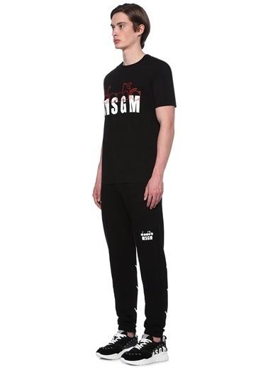 Msgm Tişört Siyah